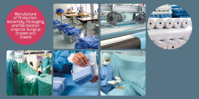Fluff Bed Pads with Absorbent Powder Production Machine