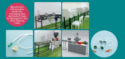 Feeding Tube Production Lines